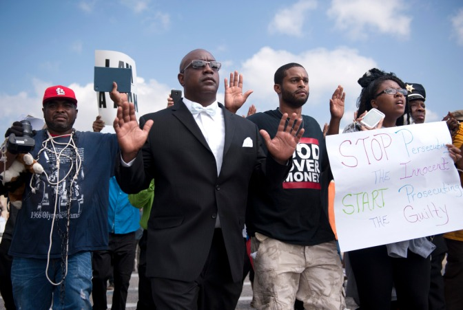 The Attorney General Arrives in Ferguson and Learns of Demands