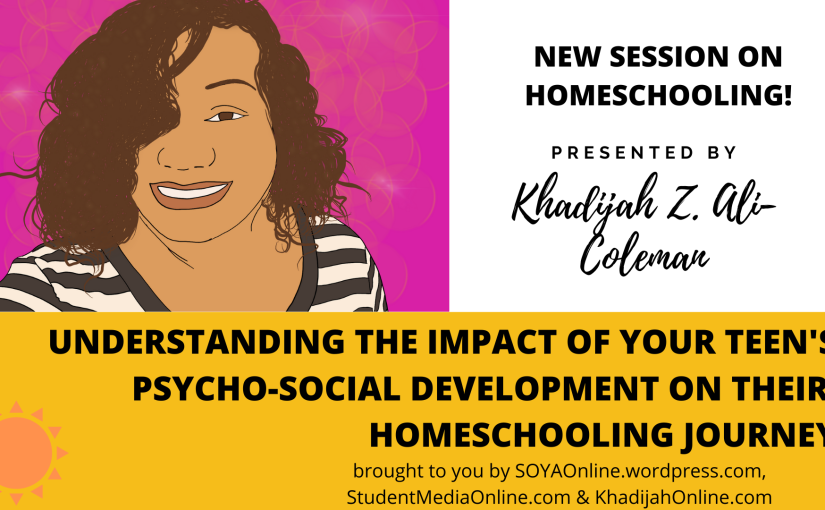 Youth development and homeschooling a teenager #Homeschool #Homeschooling #BlackHomeschooling